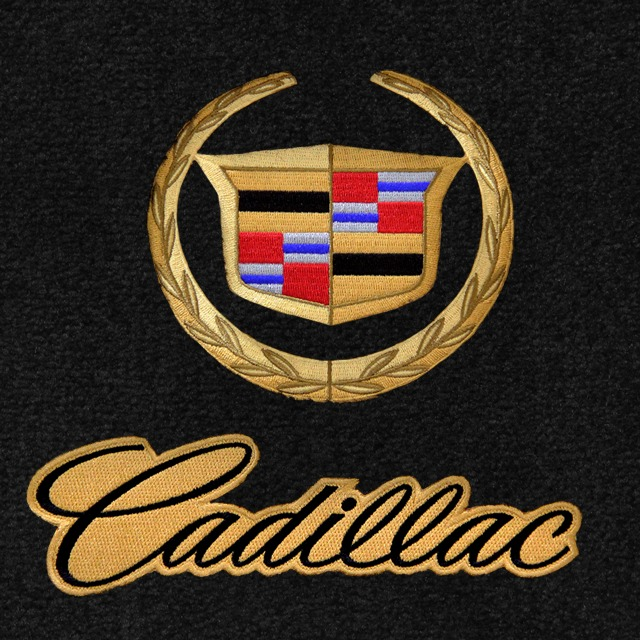 Cadillac Cars 5pc Velourtex Carpet Floor Mat Set Choose Color