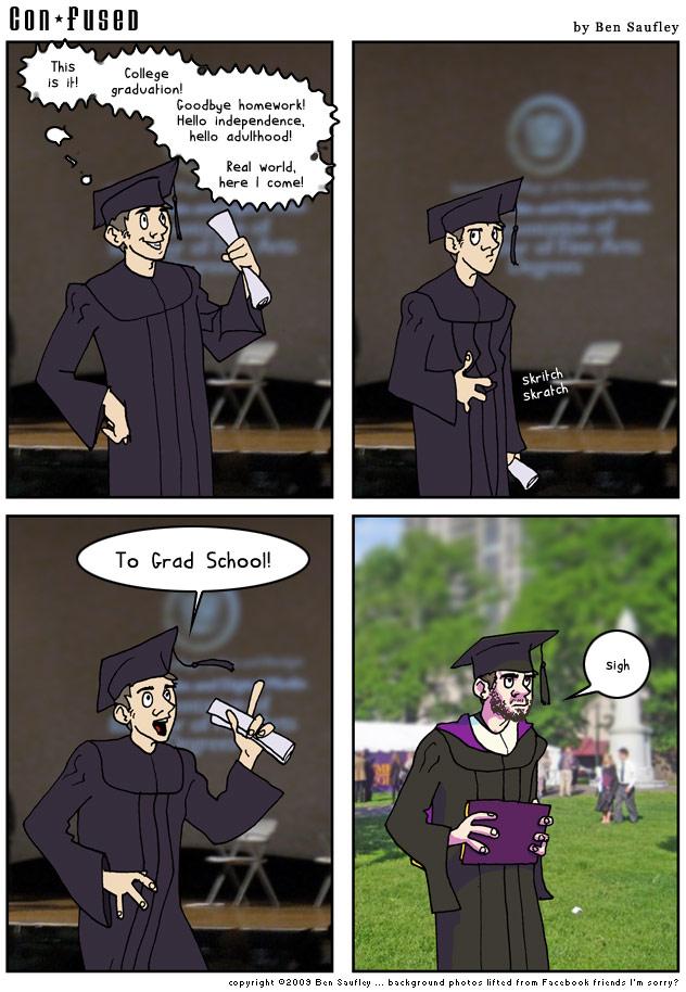 Comic: So ... Ph.D?