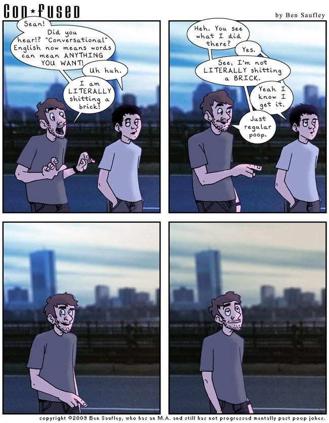 Comic: Really Maturing.