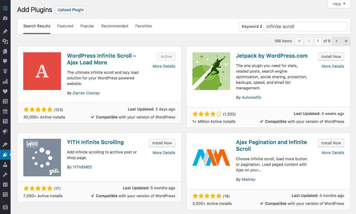 WordPress Add New Screen