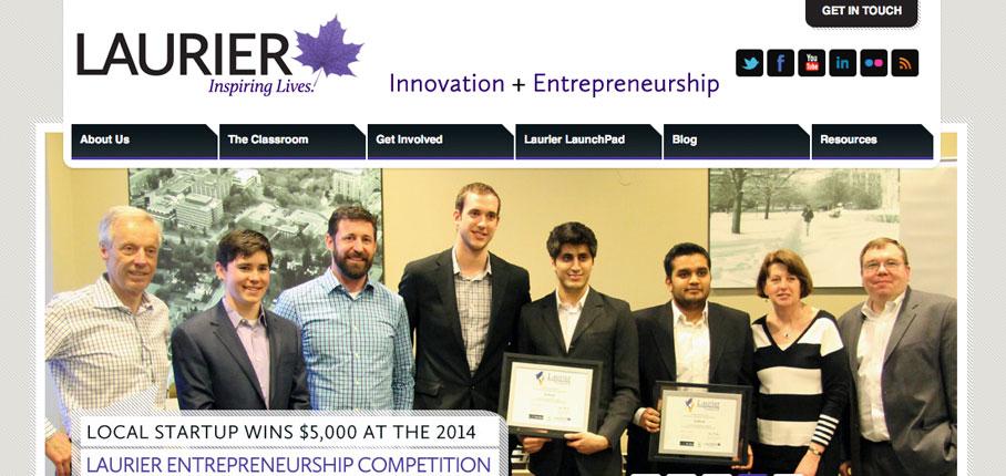 Innovation + Entrepreneurship at Laurier