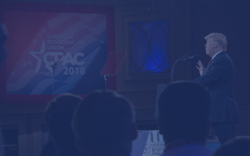 Page Hero Trump Cpac2018