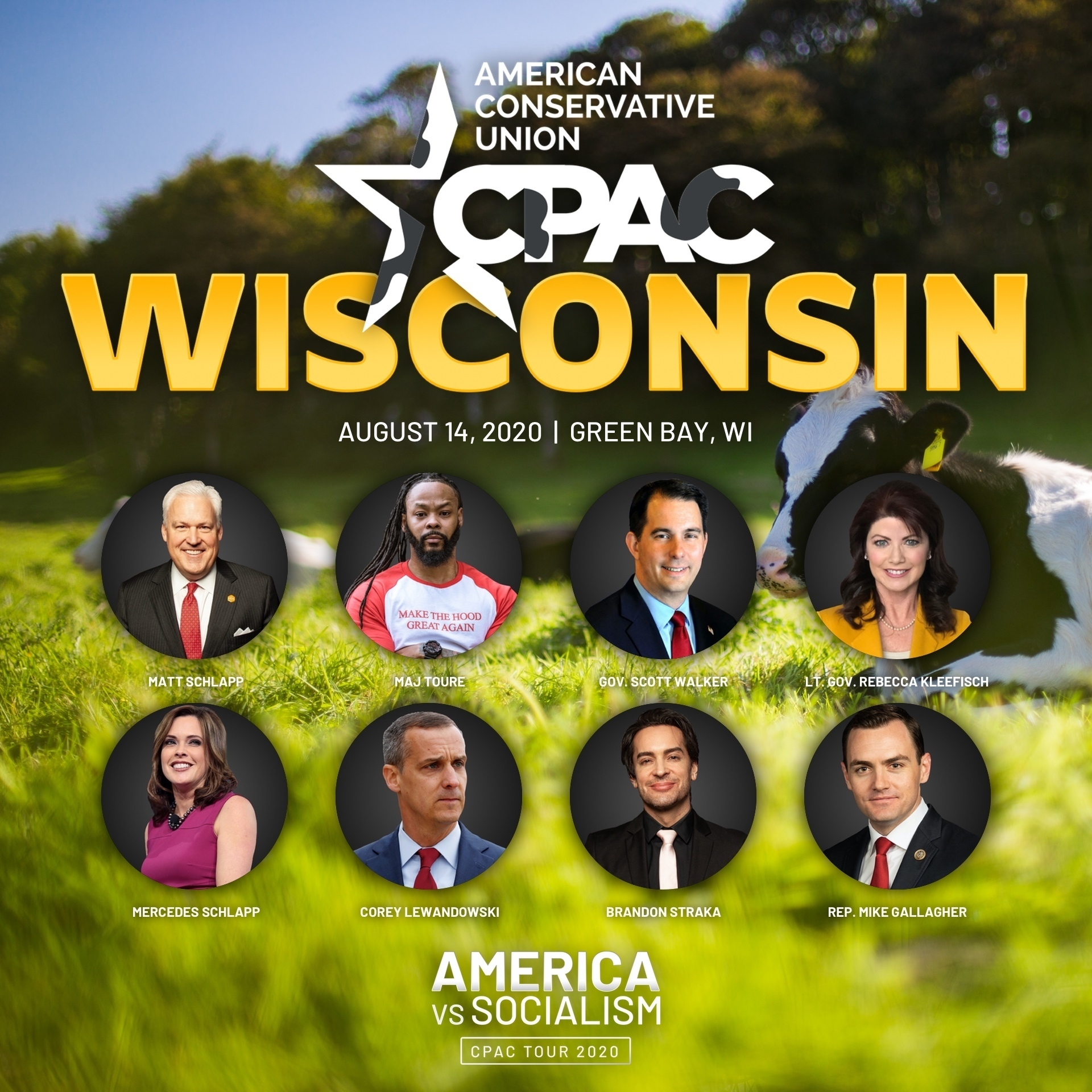 CPAC Wisconsin speakers