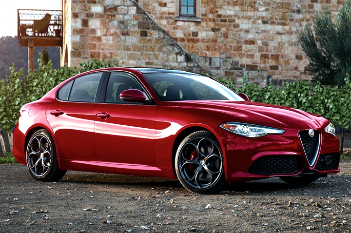 Giulia Side View