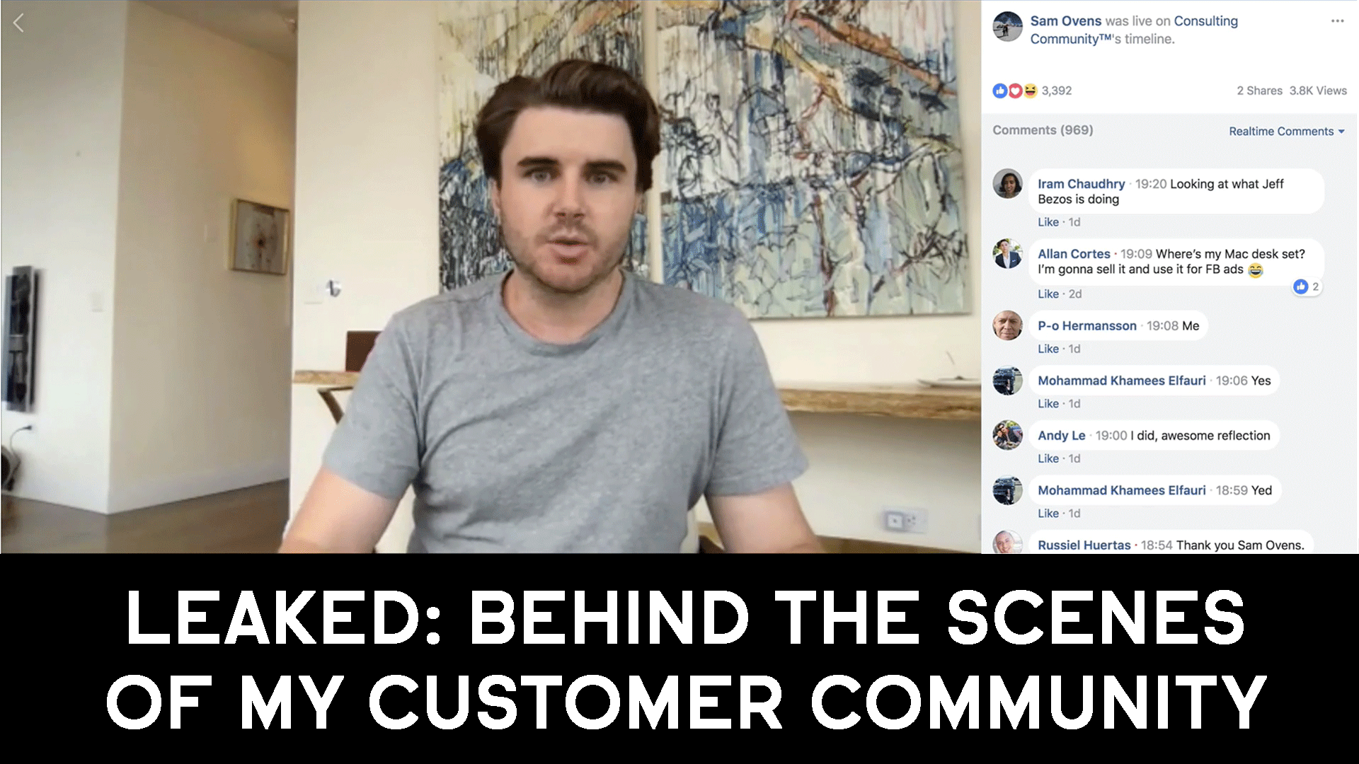 LEAKED: Behind The Scenes Of My Customer Community