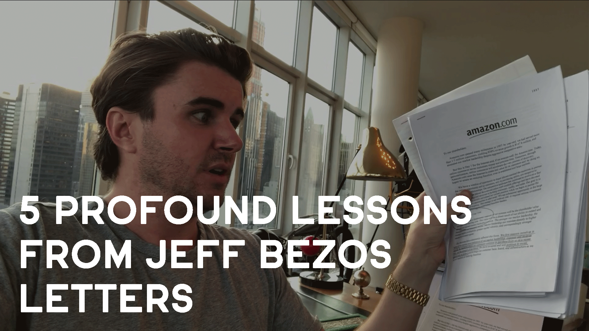 5 Profound Lessons I Learned From Reading Jeff Bezos Letters To Amazon  Shareholders