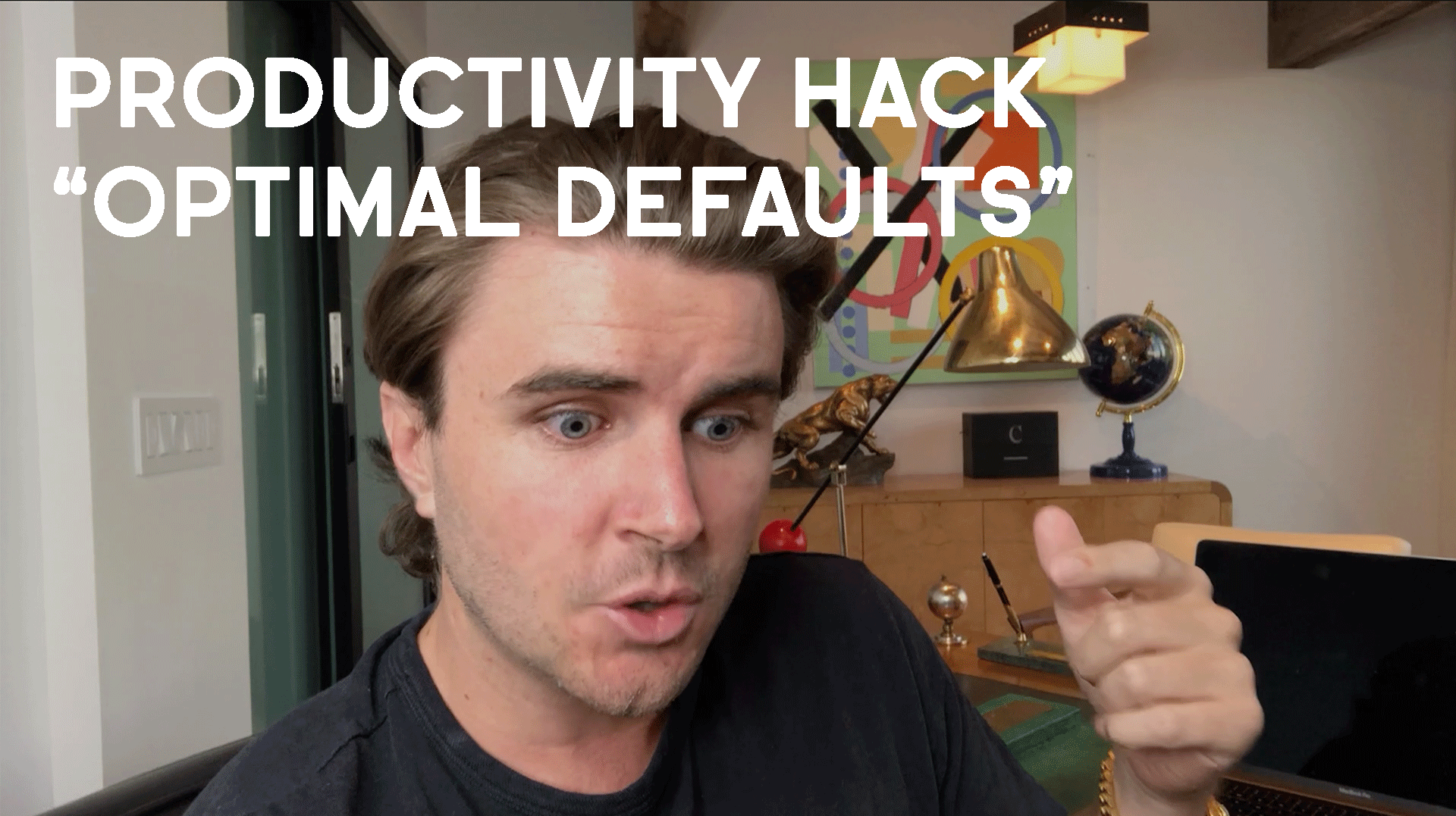 """Productivity Hack: Designing Your Life For """"Optimal Defaults"""""""