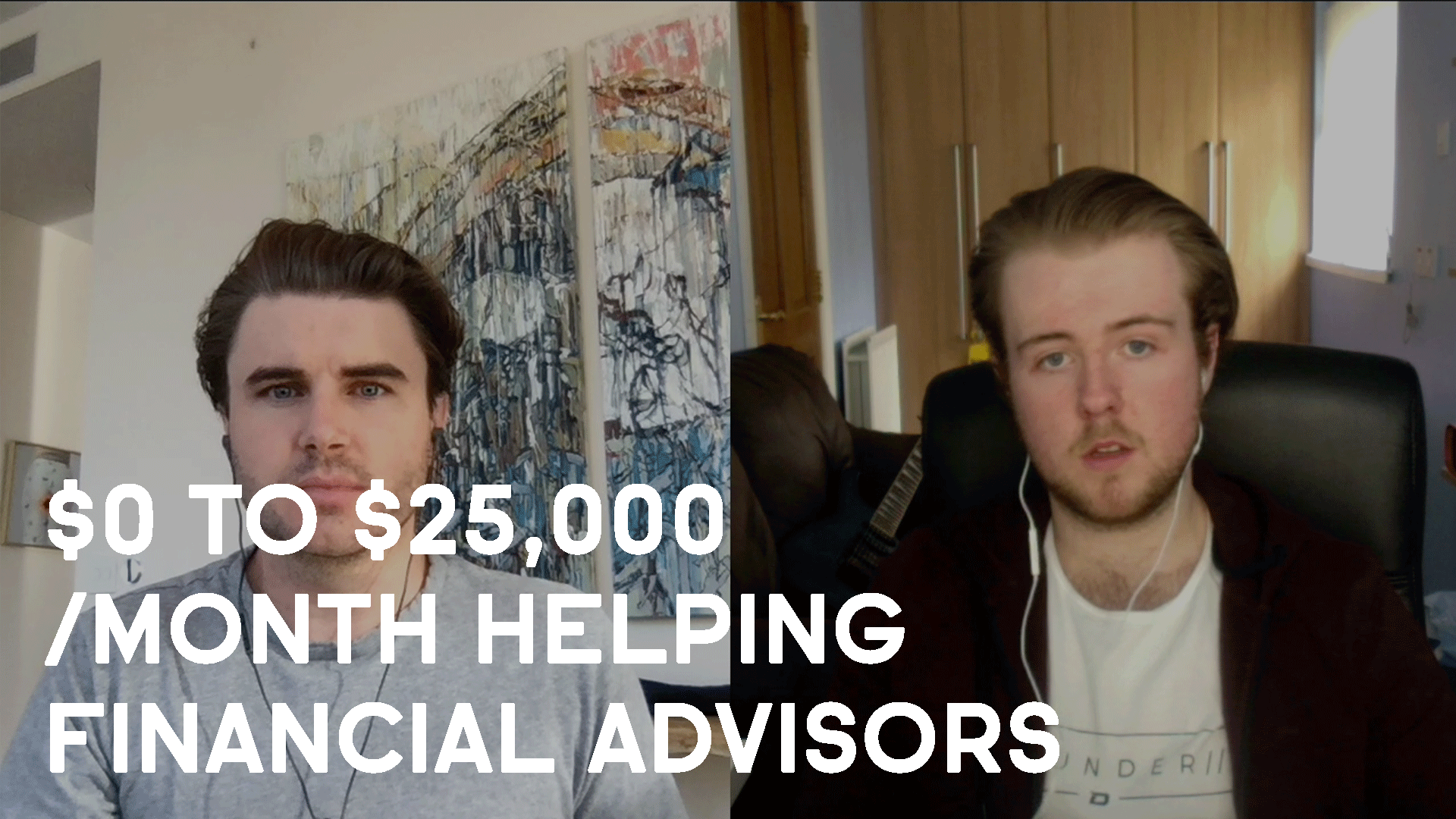 How Chris Wills Went From $0 to $25,000 /month Helping Financial Advisors Get Clients