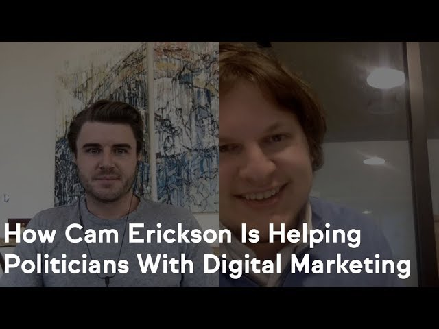 How Cam Erickson Started His Own Political Consulting Firm And Is Making $6,000 /Month