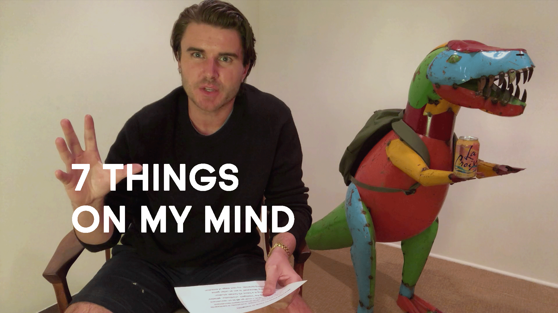 Why I Get Away To Think (7 Things On My Mind)