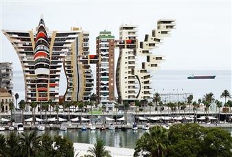 Shifra Levyathan - Future Cityscape 18 Digital C-Print