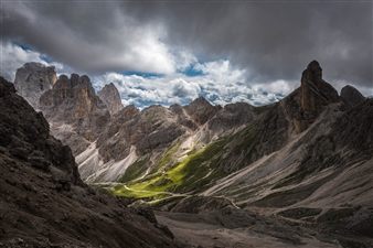 Olga Loschinina - Dolomites Photograph on Plexiglass, Photography