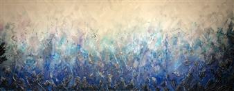 Tiffany Reid - Reverie Acrylic & Resin on Canvas, Paintings