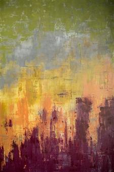 Susan Shade - No Battles Acrylic on Canvas, Paintings