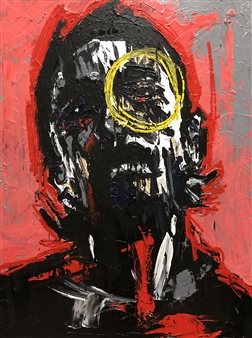 Nick Bautista - I Should Have Figured You Out Acrylic on Canvas, Paintings