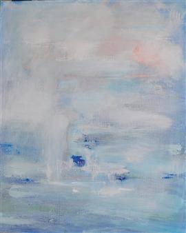 Barbara Wykrota - Morning 2 Acrylic on Canvas, Paintings