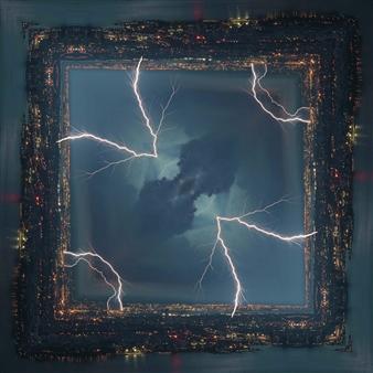 Hanan Levi - Light of Sorrow Digital Print on Canvas, Digital Art