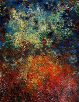 Irina Goryunova - The Heart of Granada. A Moorish Tale Oil on Canvas, Paintings