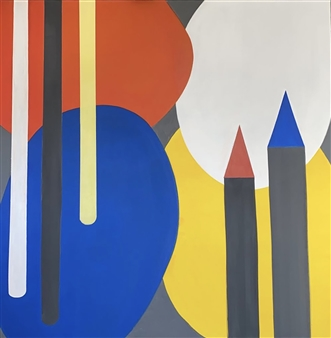 Mariela Soldano - New Coexistence's Drawings Acrylic on Canvas, Paintings