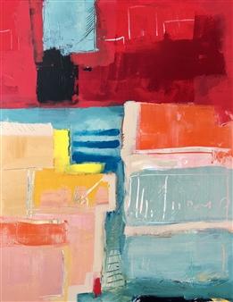 Paul Kittlaus - Untitled #142 Acrylic on Canvas, Paintings