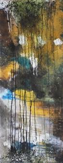 Saurabh Mohan - Subterranean 3 Acrylic on Canvas, Paintings