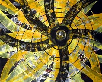 Dar Wolfe - Unbreak My Heart Acrylic on Canvas, Paintings