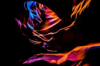 Gabriela Segura - Blue Spirit Photographic Print on Aluminum, Photography