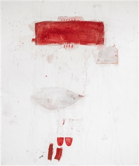 Maria Beykirch - Sommerkleid Gouache on Paper, Paintings