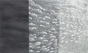 Juan Salazar - From the Series Contracorriente 12 Collograph, Prints