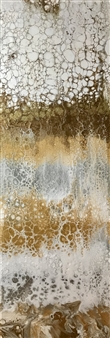 Deborah Helms - Gold Rush Acrylic on Canvas, Paintings