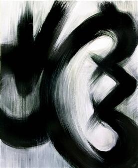 Noriyoshi Morimoto - Beans Sprout  10-15-3 Acrylic on Canvas, Paintings