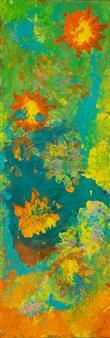 Jodi DeCrenza - Sun Burst Acrylic on Canvas, Paintings