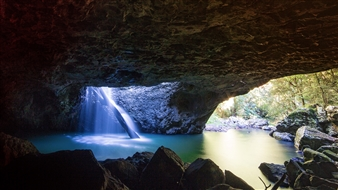 Mireille Pizzo - Natural Arch, Springbrook Photograph on Metallic Paper, Photography