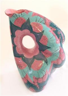 Nora Pineda - Paisley Ceramic, Sculpture