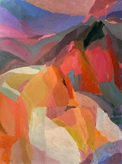 Cristina Prieto Crespi - Reposo Oil on Canvas, Paintings