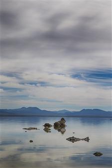 Sarah Lynch - Tufa Blue Photograph on Fine Art Paper, Photography