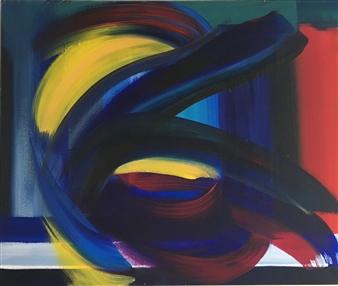 Rebecca Stenn - Rough Edges Acrylic on Canvas, Paintings