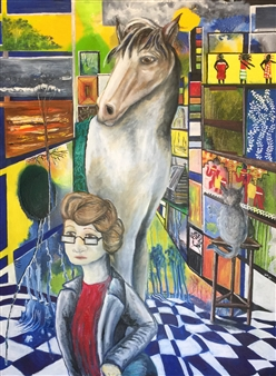 Di - Perceptions Oil on Canvas, Paintings