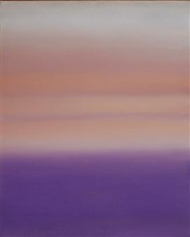 María de Echevarría - Soft Field #2 Oil over Acrylic on Canvas, Paintings