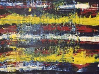 Ulrich T. Grabowski - Straight Ahead Wild Acrylic on Canvas, Paintings