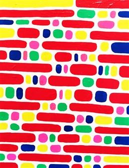 Hiroko Saigusa - Candy Acrylic on Canvas, Paintings