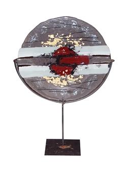 Manolo Ferrer - Plato Glass, Sculpture