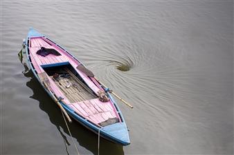 Rogelio Cabadas Lopez - Remolino en India Photograph on Plexiglass, Photography