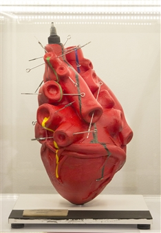 Gabriele Pellerone - Heart Mixed Media, Sculpture