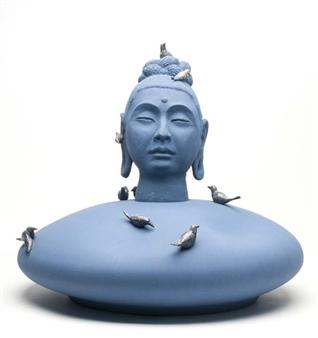 Susan Kadish - 3833 Stoneware, Sculpture