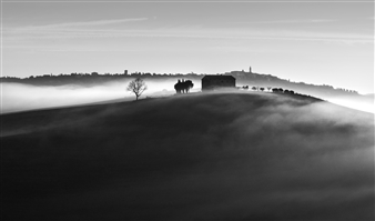 Gianluca Pollini - Tuscany #1 Photograph on Fine Art Paper, Photography