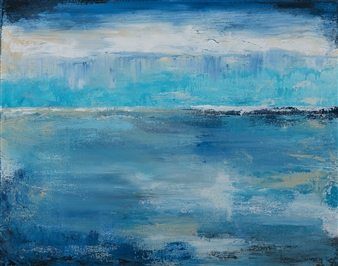 Anne E Chamness - November Morning Acrylic on Canvas, Paintings