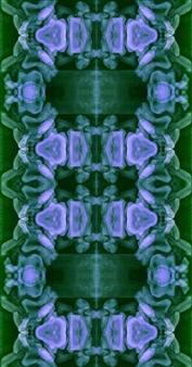 Stacey Dolen - Vertebrae In Turquoise Digital Collage on Paper, Digital Art