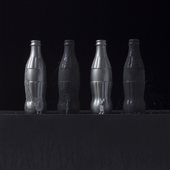 Art Golacki - Still Life in Wet with Andy's Coke / second variation Archival Pigment Print, Photography