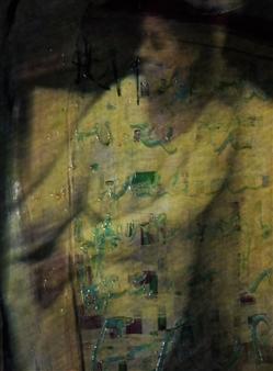 Gatscher<br /> von Burgsdorff - Meine Ruh ist hin... Digital Photo Painting on AluDibond, Photography